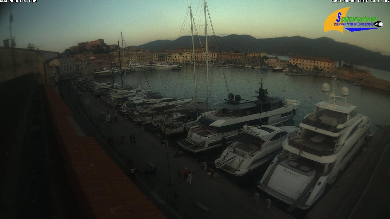 Elba Webcam: Darsena Portoferraio Insel Elba