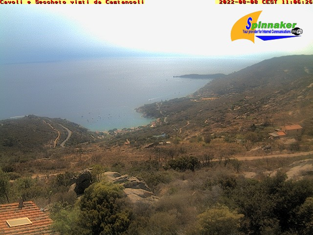 Webcam am Strand von Cavoli
