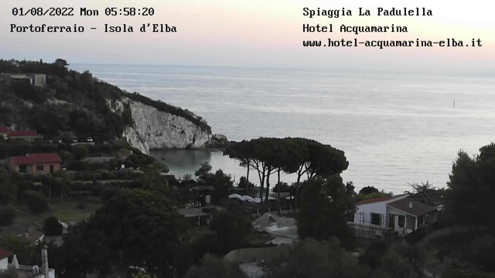 Webcam Elba Portoferraio La Padulella
