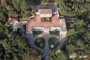 Panoramica villa di San Martino
