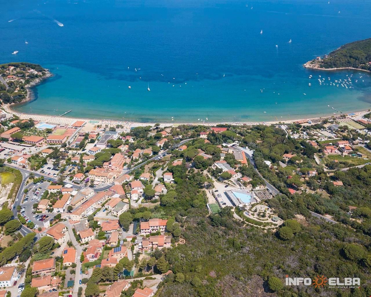 Procchio Elba Karte.Prochio Insel Elba