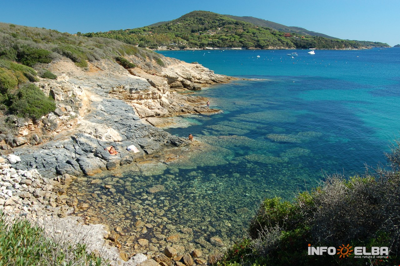 Nudist beaches in Elba