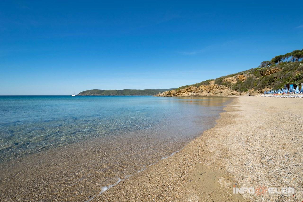 Cartina Isola Delba Capoliveri.Spiaggia Di Lido Di Capoliveri All Isola D Elba A Capoliveri