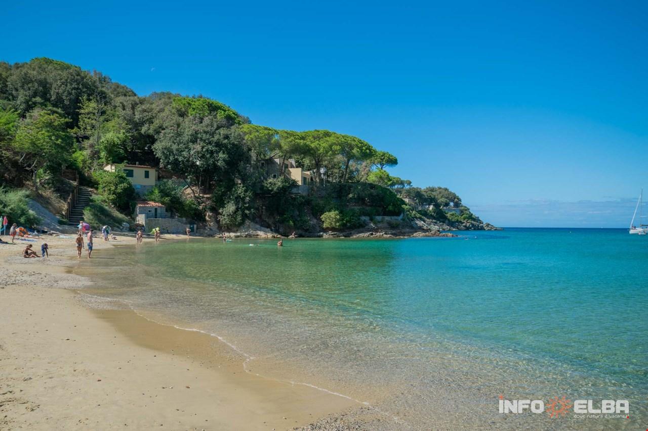 Procchio Elba Karte.Strand Procchio In Marciana Auf Der Insel Elba