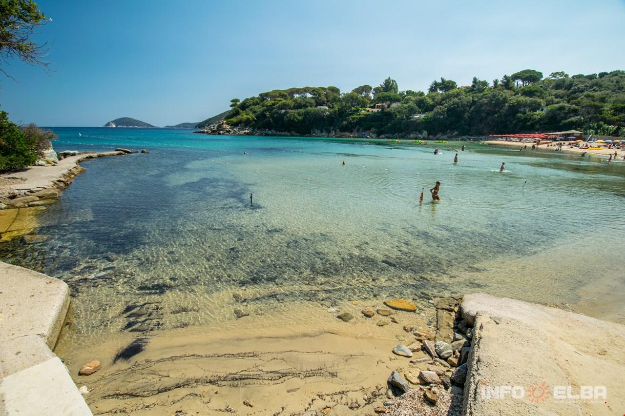 Procchio Elba Karte.Strand Spartaia Auf Der Insel Elba In Der Gemeinde Von Marciana