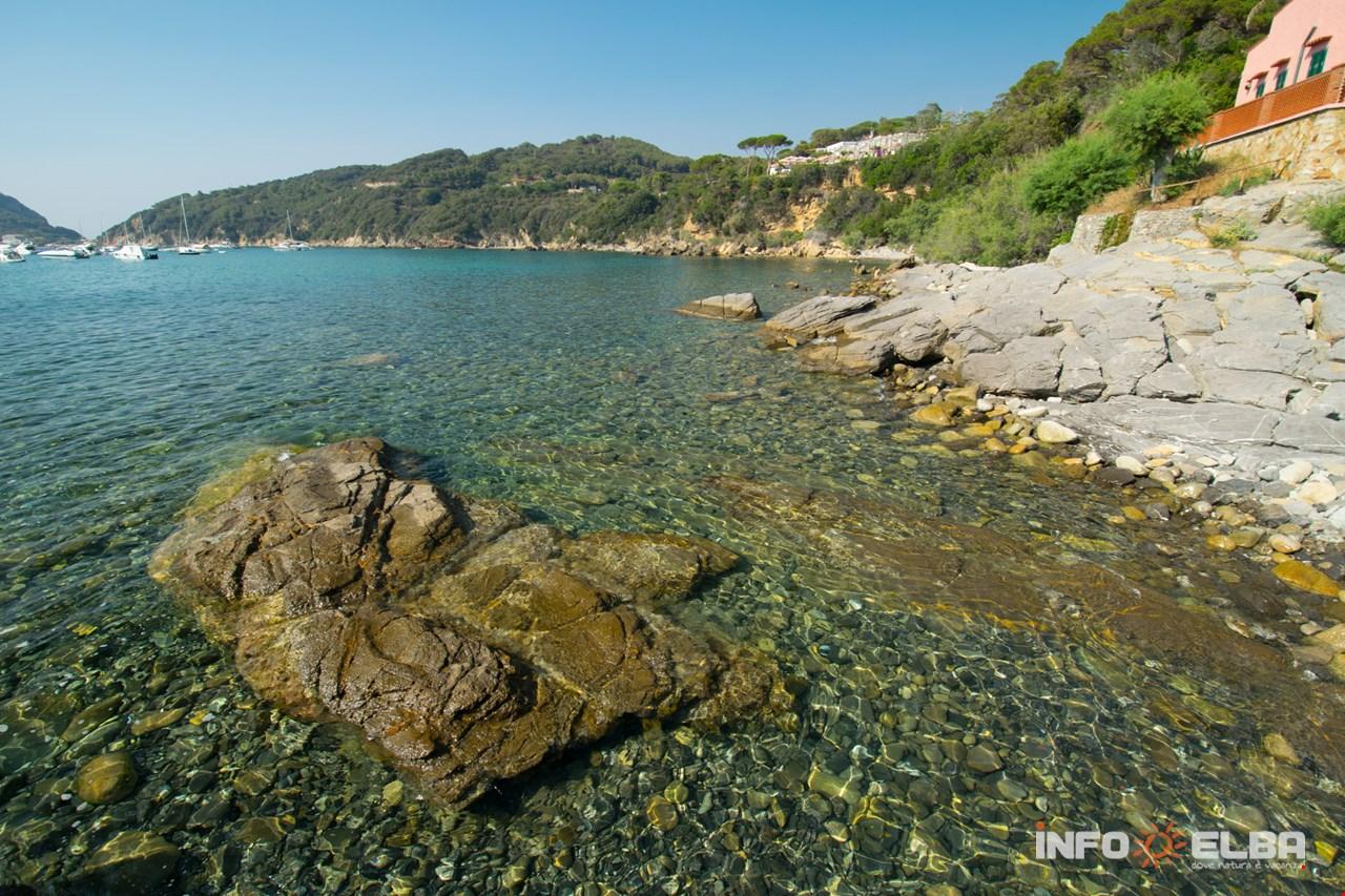 Strand Viticcio in Portoferraio auf der Insel Elba