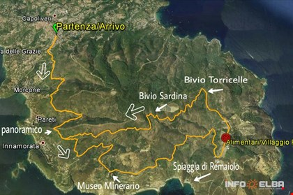 Itinerario Capoliveri Bike Park