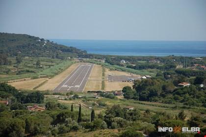 Aeroporto de 'La Pila' a Marina di Campo