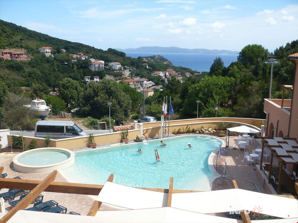 Residence La Pergola auf der Insel Elba, in Rio Marina, Via ...
