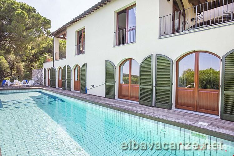 Villa Focardo Allisola Delba A Capoliveri Loc Capo Perla